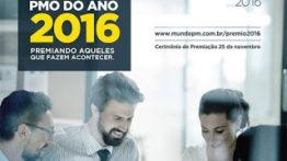 Premiação em gerenciamento de projetos do Ano 2016