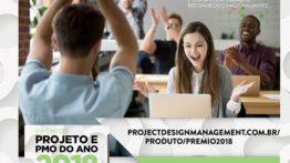 Premiação em gerenciamento de projetos
